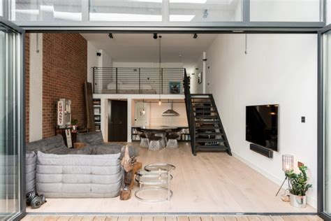 Kitchen Ideas Small Spaces - loft apartments with an industrial factory feel in northbourne london