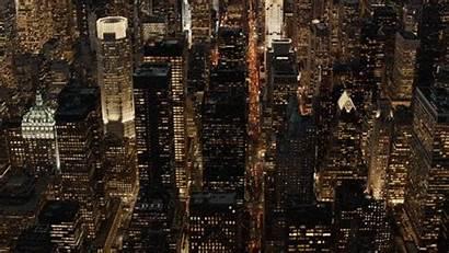 York Manhattan Skyline Lights Luxury Aerial Helicopter