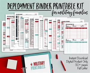 Create a Deployment Binder: Printable Checklists for ...