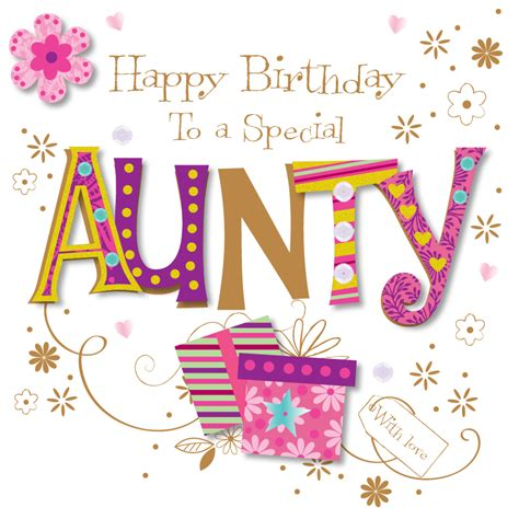 Happy Birthday Auntie Images Special Happy Birthday Greeting Card Cards