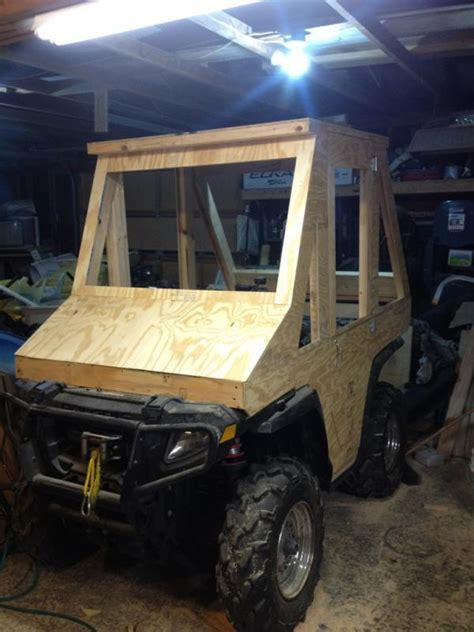 homemade truck cab atv cab plowsite