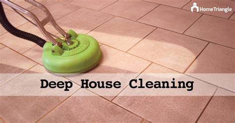 basic house cleaning  deep cleaning hometriangle