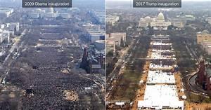 Trump's Inauguration vs. Obama's: Comparing the Crowds ...