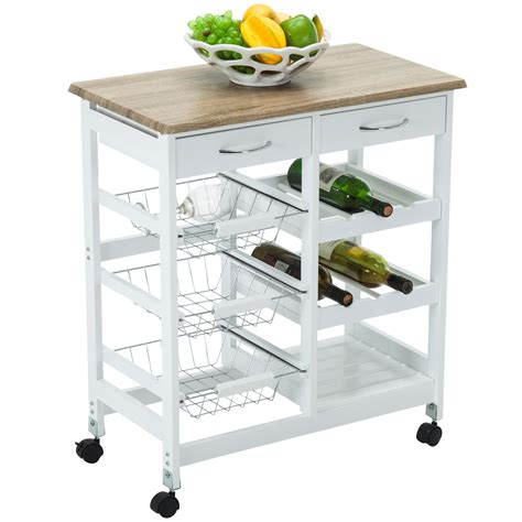 portable kitchen storage oak kitchen island cart trolley portable rolling storage 1611