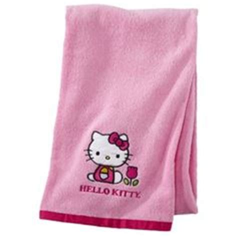 hello kitty home on pinterest hello kitty bath towels