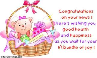 Congratulation On Your New Baby News