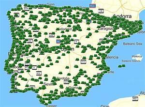 Beste Campingplätze Spanien : andalusien weltkarte ~ Frokenaadalensverden.com Haus und Dekorationen