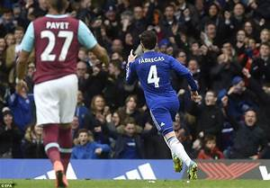 Chelsea 2-2 West Ham: Midfielder Cesc Fabregas converts ...