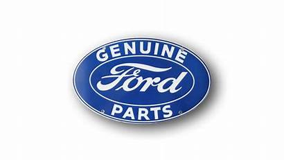 Genuine Ford Parts Sign Oval Signs V8