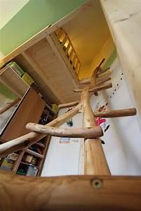 Hochbett Bauen Lassen : hochbett mit aufstieg aus robinie sinnesmagnet ~ Michelbontemps.com Haus und Dekorationen