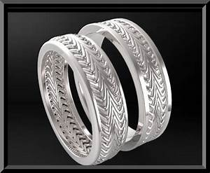 unique matching his and hers wedding bands classic rings With matching men and women wedding rings