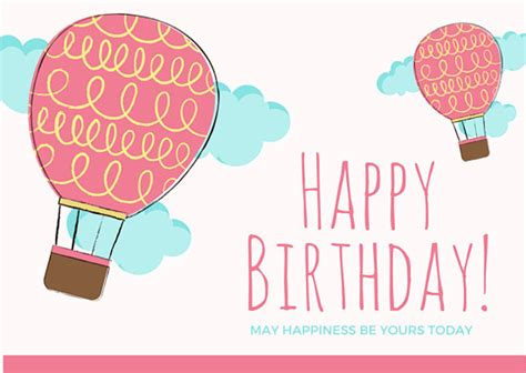 template free singing birthday cards as well as balloon themed happy birthday card templates by canva
