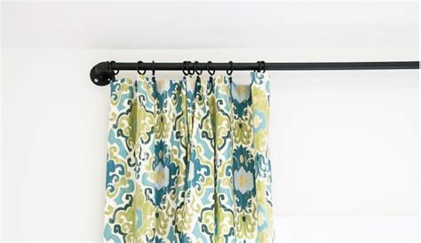 Best 25+ Rustic Curtain Rods Ideas On Pinterest