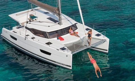 Catamaran Pictures by Catamaran 224 Voile Lucia 40 Fountaine Pajot
