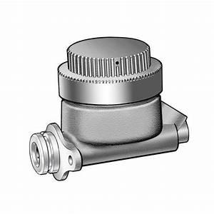 Master Cylinder - Manual Drum Brakes - 7  8 Bore