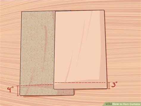 3 Ways To Hem Curtains