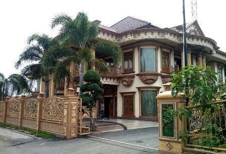 gambar rumah mewah artis terkenal indonesia rumah bagus