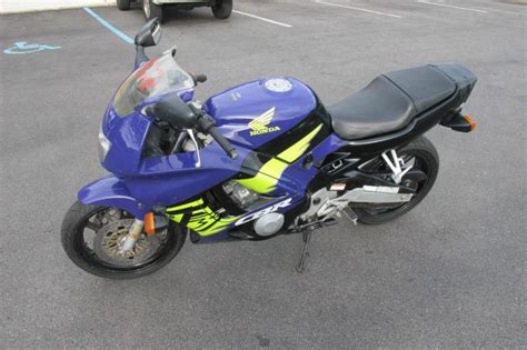 honda sports bikes 600cc blue 1995 honda cbr 600cc sport bike motorcycle for sale