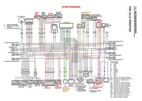 Yamaha V 650 Wiring Diagram Tach by Dr650se Schaltplan Starten Seitenst 228 Ndersperre Motor