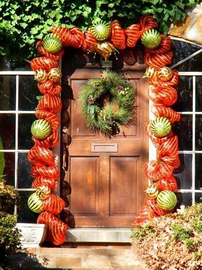 Door Christmas Decor Decorations Decoration Decorating Bauble