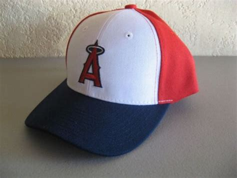 New Anaheim Los Angeles Angels Sewn Logo Hat Baseball Cap Osfm Limited Edition Usd 18 99 End