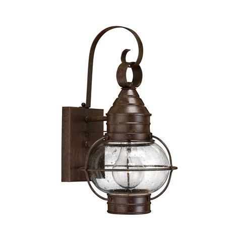 hinkley lighting cape cod wall lantern l brilliant source
