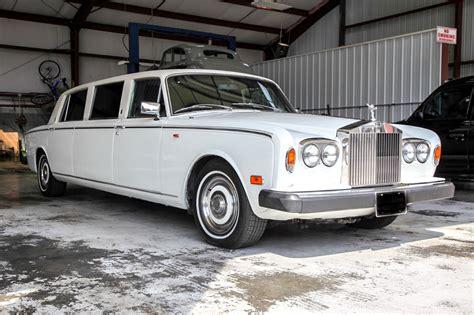 Rolls Royce Limousine by 1974 Rolls Royce Silver Shadow Limousine For Sale