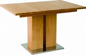 Table Bois Rectangulaire : table en bois massif design md1 a rallonge 140 x 90 cm ~ Teatrodelosmanantiales.com Idées de Décoration