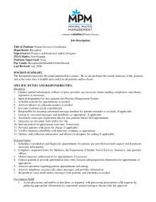 2016 Patient Care Coordinator Resume Sample
