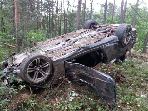Bmw M4 Crashes During Test Drive In Germany