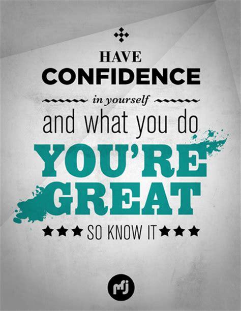 confidence quotes inspirational quotesgram