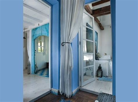 Home Design Color Ideas by Moroccan Decor And Blue Color Bring Cool Moroccan Style
