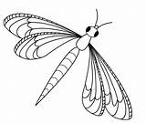 Dragon Fly Clipart Dragonfly Clip Coloring Cute Pages sketch template