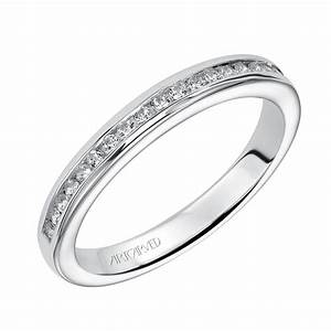 ArtCarved Diamond Wedding Band 14K 31 V221W L Ben
