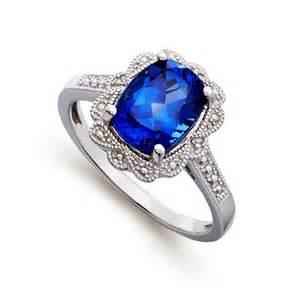 engagement rings blue blue gem engagement ring knowzzle
