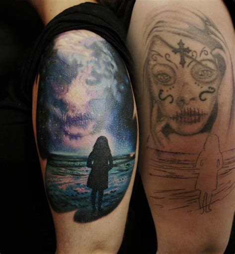 girl neart  sea cover   tattoo ideas gallery