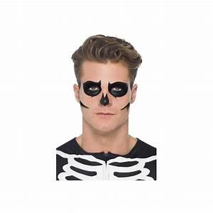 Maquillage Squelette Facile : maquillage phosphorescent de squelette ~ Dode.kayakingforconservation.com Idées de Décoration