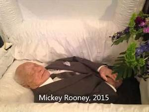 Famous People with Open Casket Funerals Video, Vol. 1 ...