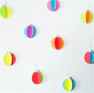 DIY Neon Ornament Wall Decals — Hello!Lucky
