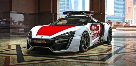 2015 W Motors LYKAN HyperSport Abu Dhabi Patrol Car ...