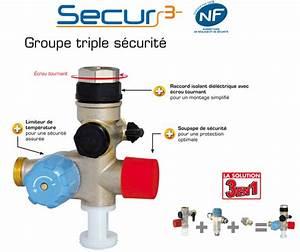 Bloc De Sécurité Chauffe Eau : kit groupe de s curit secur3 inox pour chauffe eau ~ Melissatoandfro.com Idées de Décoration