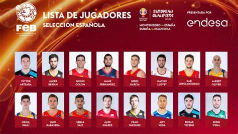 mundial  oficial la lista de espana sin los