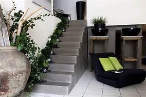 Deco Marche Escalier : quel est votre style d 39 escalier elle d coration ~ Teatrodelosmanantiales.com Idées de Décoration