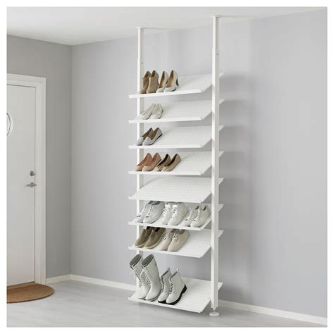 Elvarli Shoe Shelf White 80x36 Cm Ikea