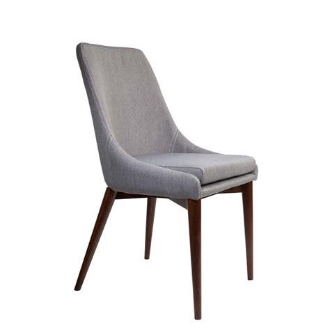 chaise en tissu chaises en tissu juju x2 par drawer