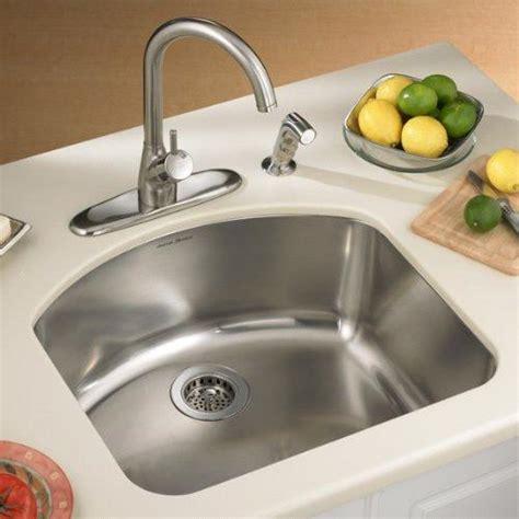 standard kitchen sink american standard undercounter mount single bowl kitchen 2484
