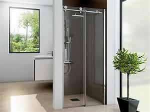 Duschtür 80 Cm : nischent r schiebet r h he 220 cm duschabtrennung ~ Michelbontemps.com Haus und Dekorationen