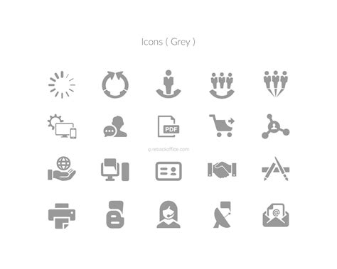backoffice icon creation