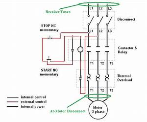 Manual Motor Starter Wiring Diagram