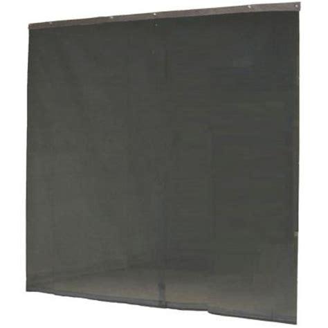 screen door protector home depot instant screen 120 in x 96 in black garage screen door